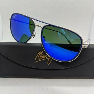 Maui Jim Fair Winds Polarized Aviator Sunglasses